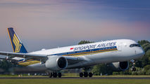 9V-SWC - Singapore Airlines Airbus A350-900 aircraft