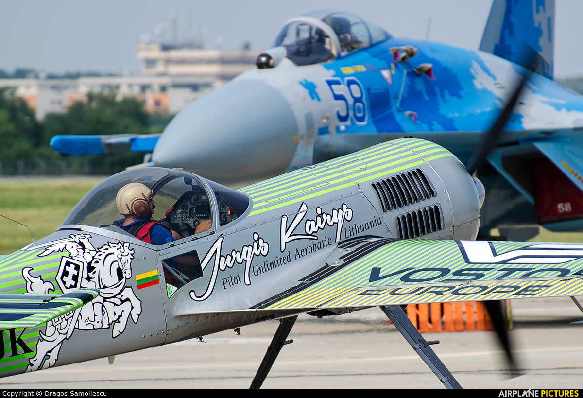 Private LY-LJK aircraft at Bucharest - Aurel Vlaicu Intl