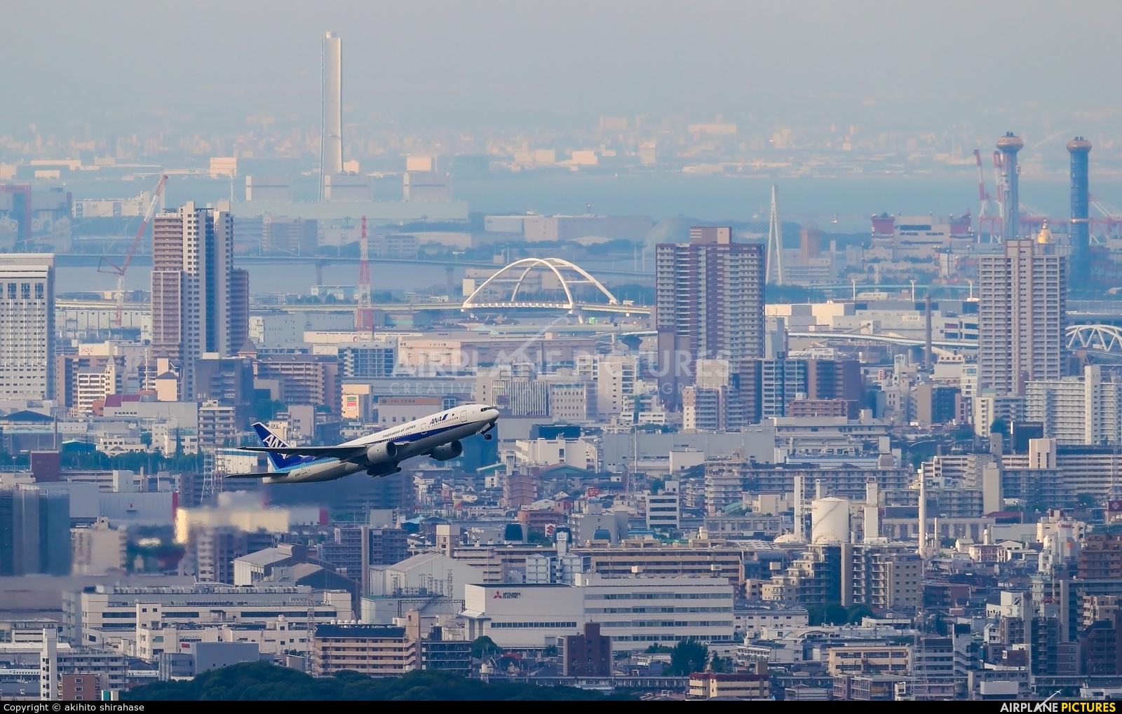 ANA - All Nippon Airways JA8197 aircraft at Osaka - Itami Intl