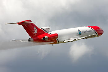 "G-OSRA - 2 Excel Aviation ""The Blades Aerobatic Team"" Boeing 727-200/Adv(RE) Super 27"