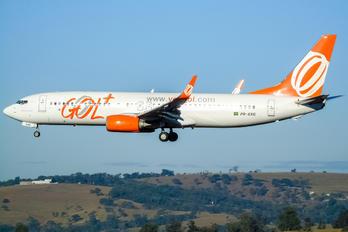 PR-GXG - GOL Transportes Aéreos  Boeing 737-800