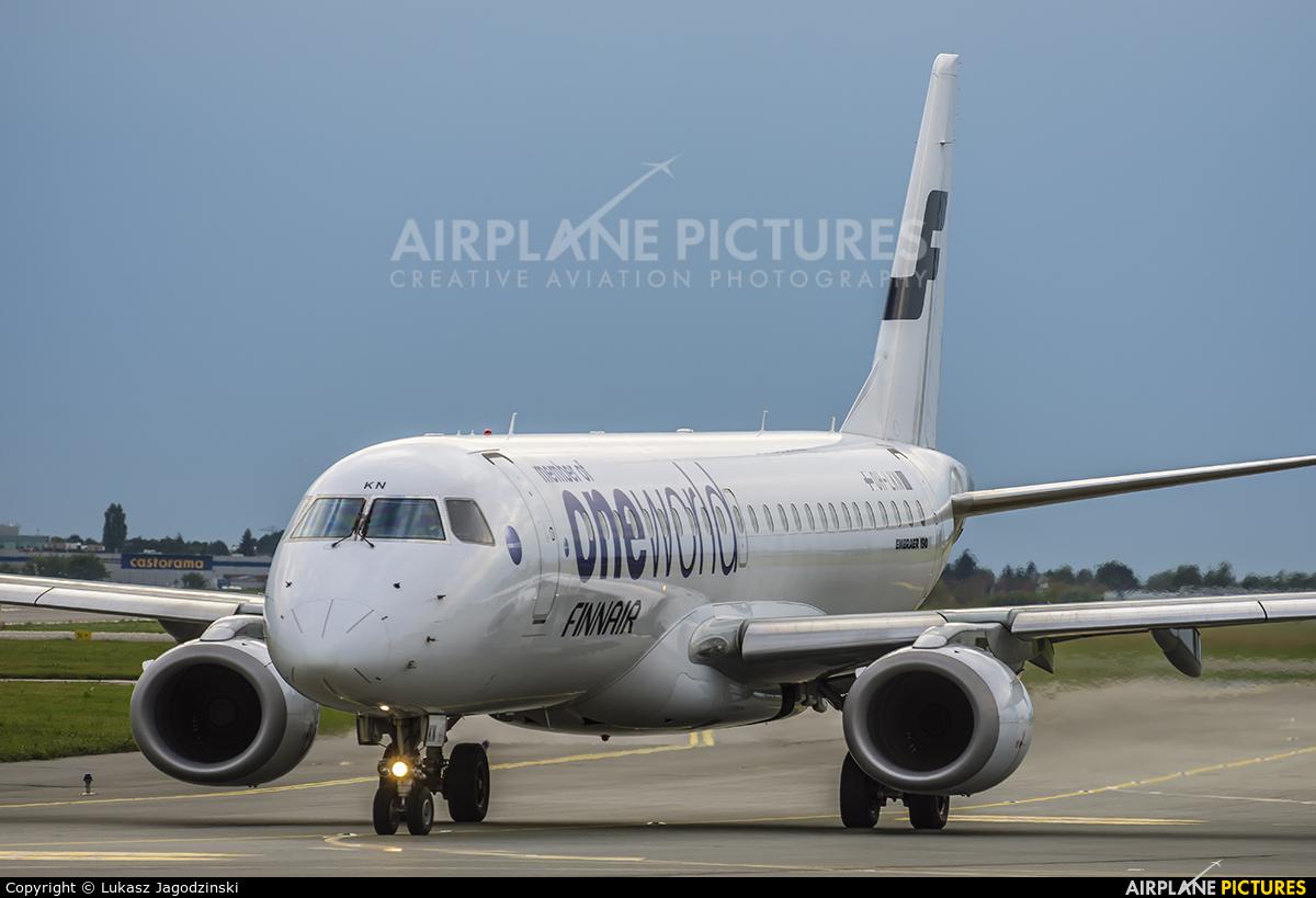 Finnair OH-LKN aircraft at Warsaw - Frederic Chopin