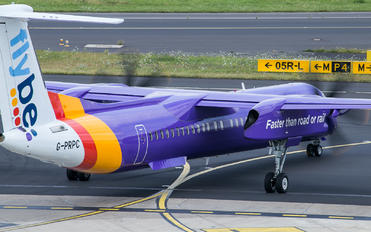 G-PRPC - Flybe de Havilland Canada DHC-8-402Q Dash 8