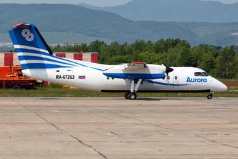 RA-67263 - Aurora de Havilland Canada DHC-8-200Q Dash 8