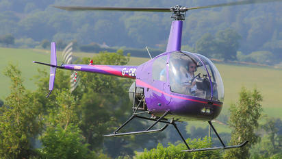 G-CBXK - Whizzard Helicopters Robinson R22 Mariner