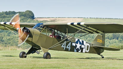 G-AXHR - Private Piper J3 Cub