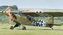 G-AXHR - Private Piper J3 Cub aircraft