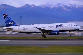 N590JB - JetBlue Airways Airbus A320