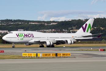 EC-KSM - Wamos Air Boeing 747-400