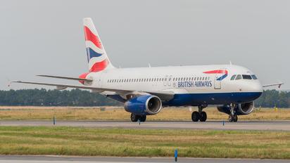 G-EUUX - British Airways Airbus A320