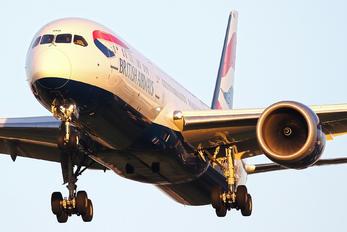 G-ZBKD - British Airways Boeing 787-9 Dreamliner
