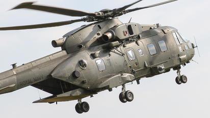 ZJ135 - Royal Air Force Agusta Westland AW101 411 Merlin HC.3