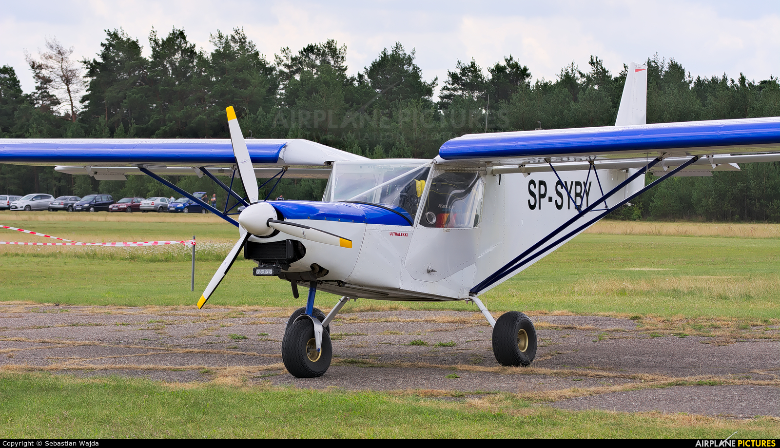 Private SP-SYBY aircraft at Borne Sulinowo