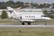 SP-CEO - Blue Jet Hawker Beechcraft 750 aircraft