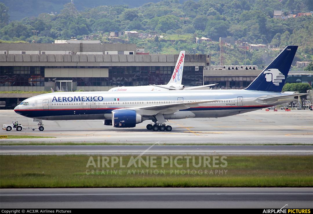 Aeromexico N746AM aircraft at São Paulo - Guarulhos