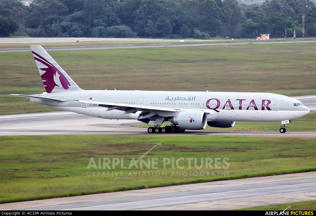 Qatar Airways A7-BBB aircraft at São Paulo - Guarulhos