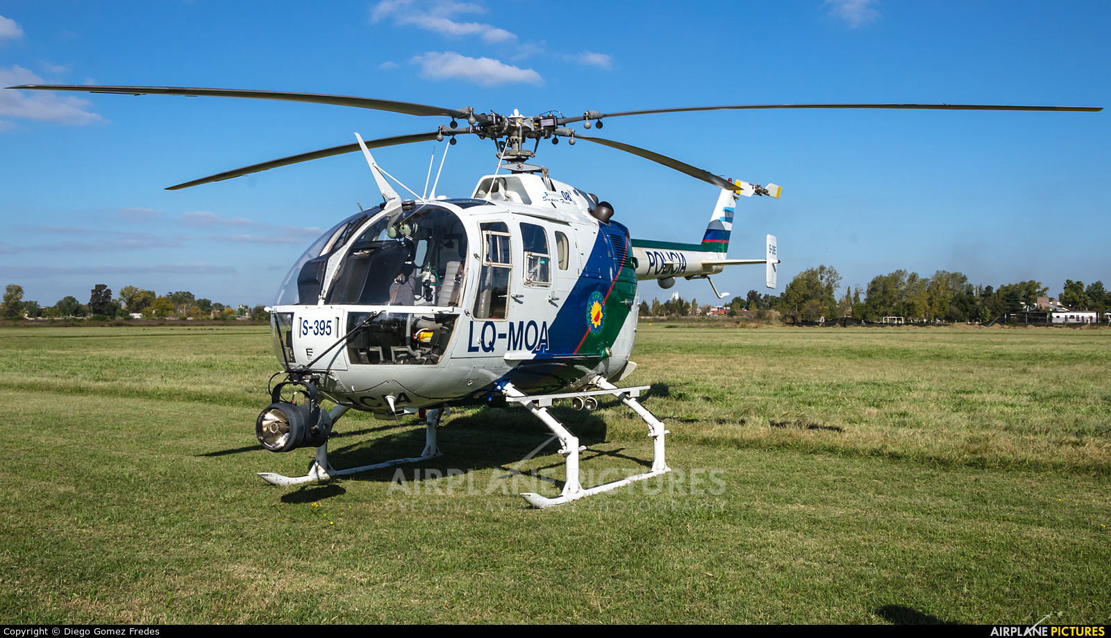 Argentina - Police LQ-MOA aircraft at University Río Matanza