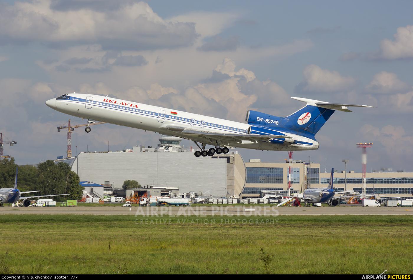 Belavia EW-85748 aircraft at Moscow - Domodedovo