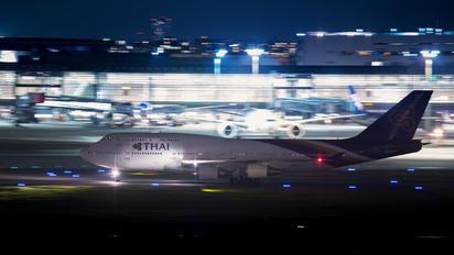 HS-TGB - Thai Airways Boeing 747-400