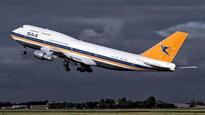ZS-SAU - South African Airways Boeing 747-300
