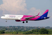 HA-LXG - Wizz Air Airbus A321 aircraft