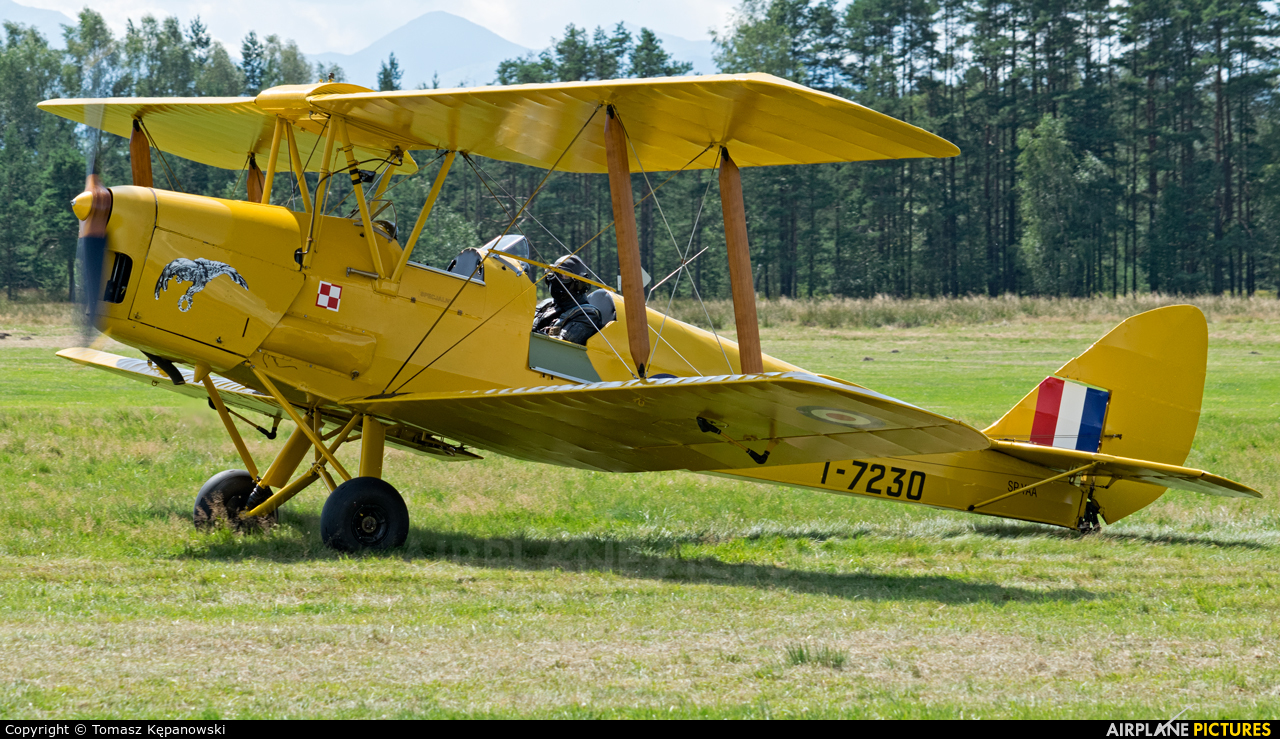 Private SP-YAA aircraft at Nowy Targ