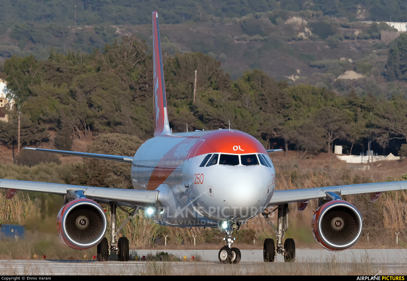 easyJet G-EZOL aircraft at Rhodes - Diagoras