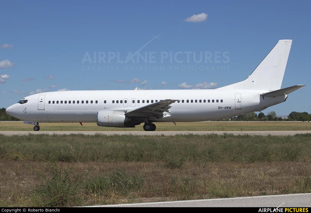 VVB Aviation 9H-AMW aircraft at Bologna - Borgo Panigale