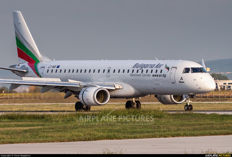Bulgaria Air LZ-VAR aircraft at Sofia