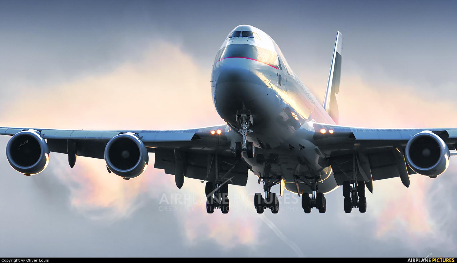 Cathay Pacific Cargo B-LJC aircraft at Frankfurt
