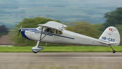 HB-CAO - Private Cessna 170