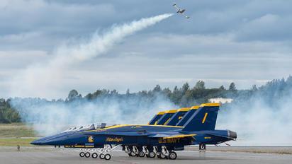 163485 - USA - Navy : Blue Angels McDonnell Douglas F/A-18C Hornet