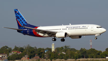 PK-CMN - Sriwajaya Air Boeing 737-800