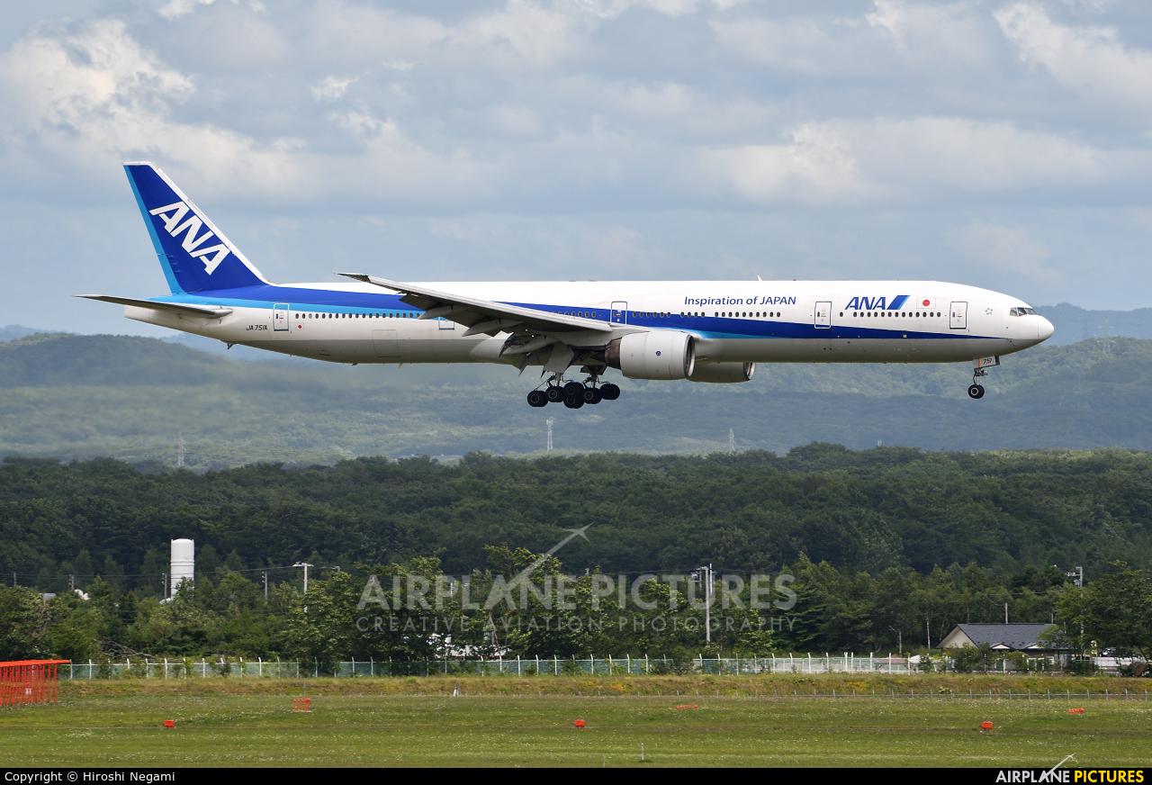 ANA - All Nippon Airways JA751A aircraft at New Chitose