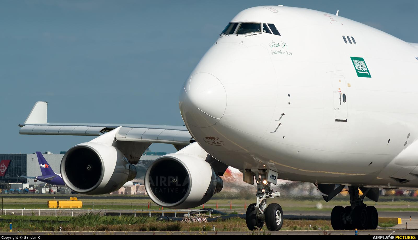 Saudi Arabian Cargo TF-AMQ aircraft at Amsterdam - Schiphol