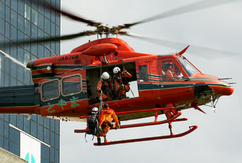 JA6768 - Toyama Prefecture Air Rescue Bell 412EP