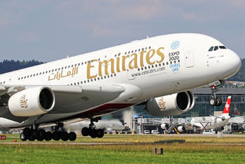A6-EDH - Emirates Airlines Airbus A380