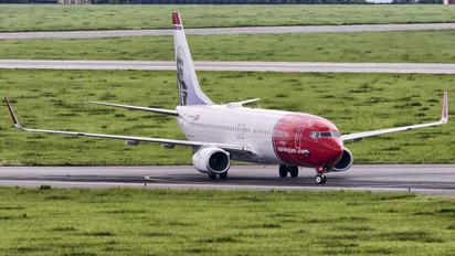 LN-NGA - Norwegian Air Shuttle Boeing 737-800