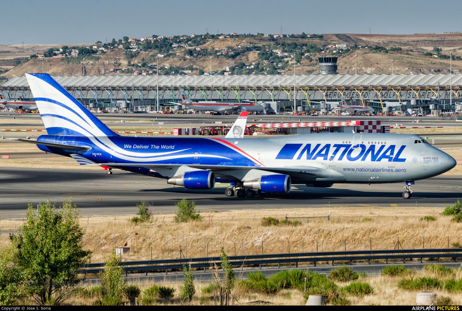 National Airlines N919CA aircraft at Madrid - Barajas