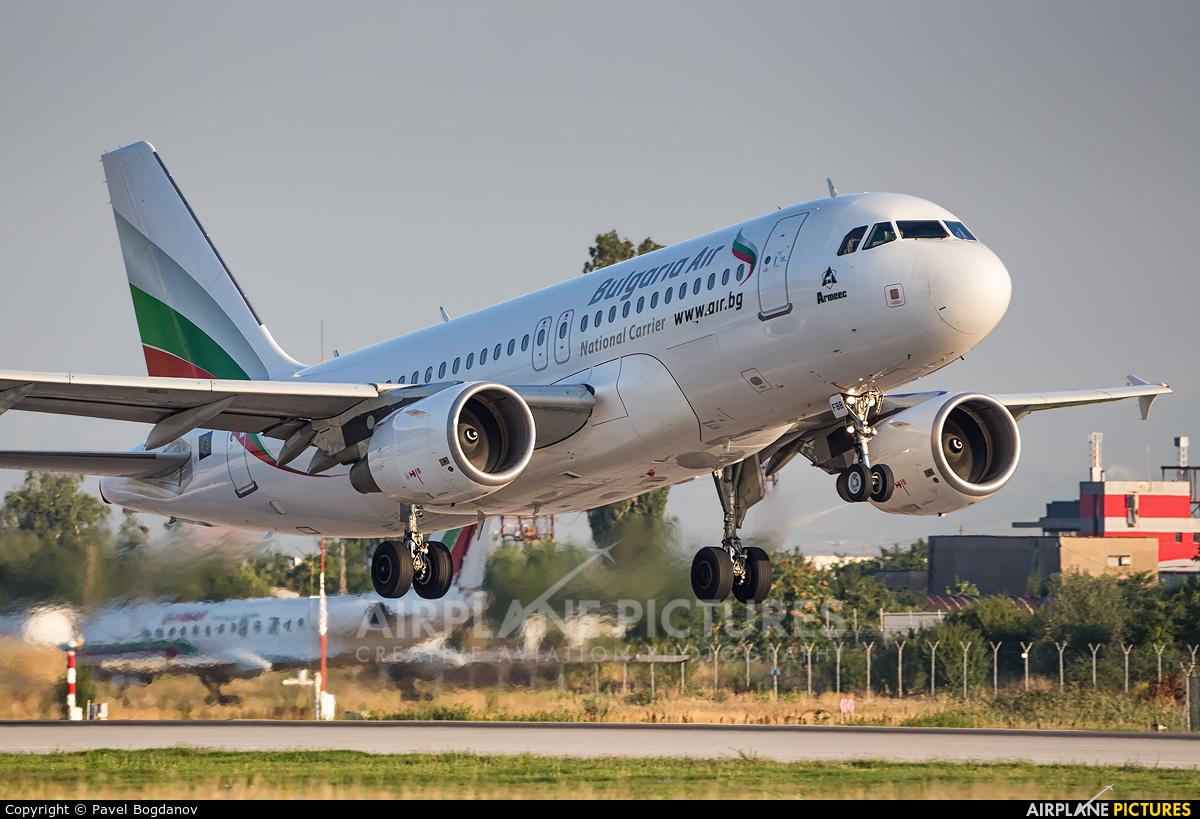 Bulgaria Air LZ-FBB aircraft at Sofia