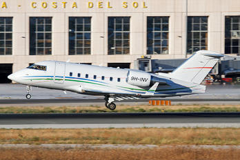 9H-INV - Private Bombardier CL-600-2B16 Challenger 604