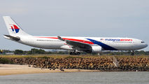 9M-MTL - Malaysia Airlines Airbus A330-300 aircraft