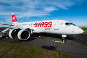 C-GWXZ - Swiss Bombardier BD-500 C Series 100 aircraft