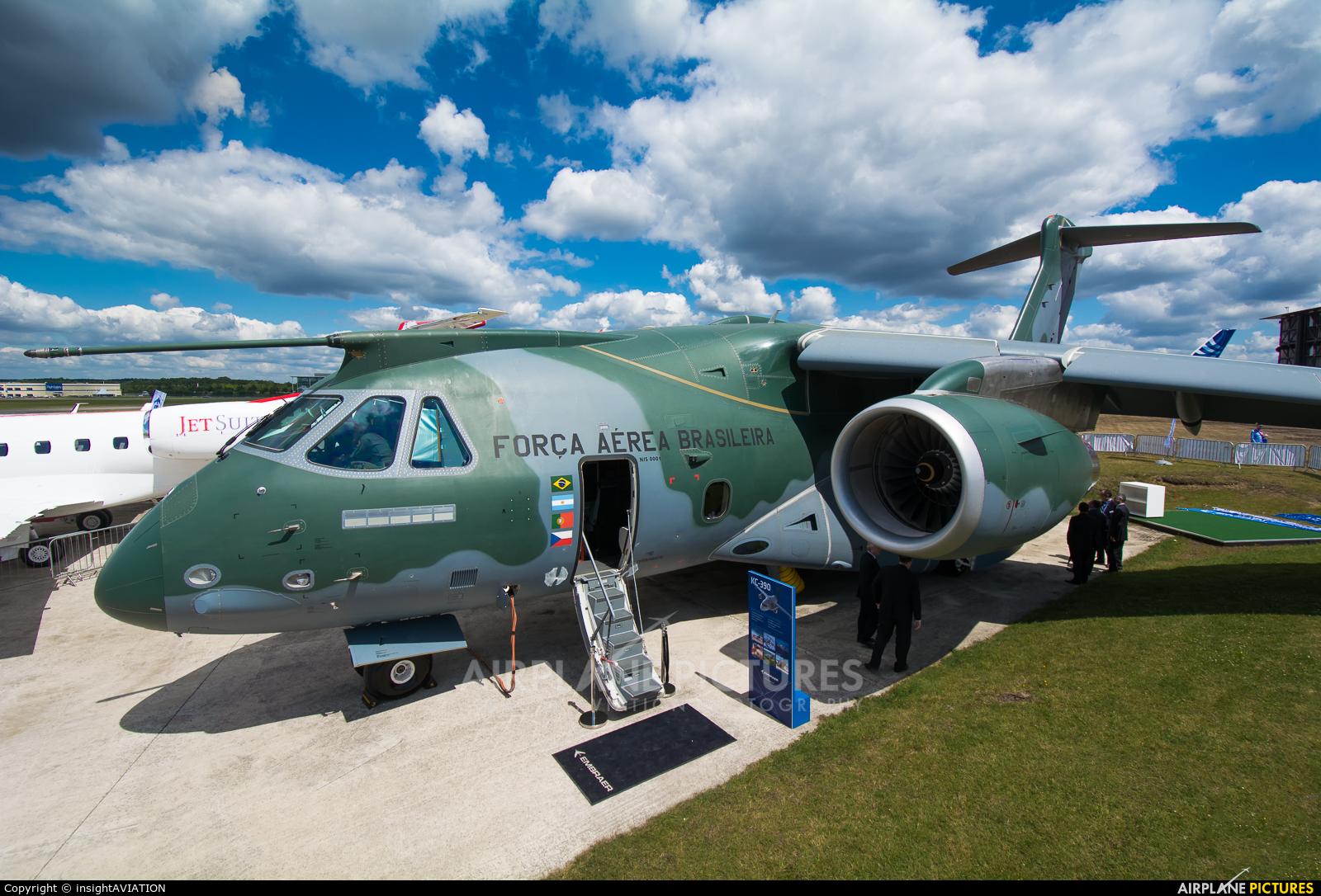 Brazil - Air Force PT-ZNF aircraft at Farnborough