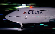 N665US - Delta Air Lines Boeing 747-400 aircraft