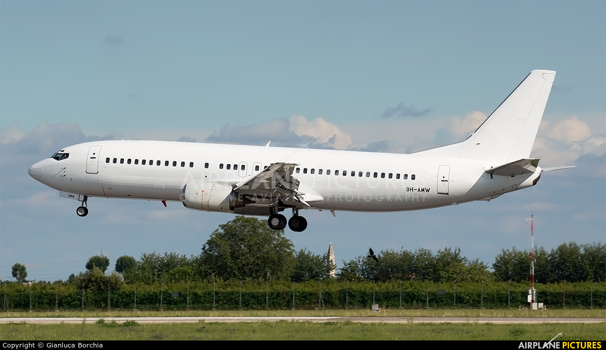 VVB Aviation 9H-AMW aircraft at Verona - Villafranca