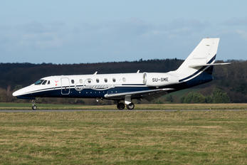 SU-SME - Smart Aviation Cessna 680 Sovereign