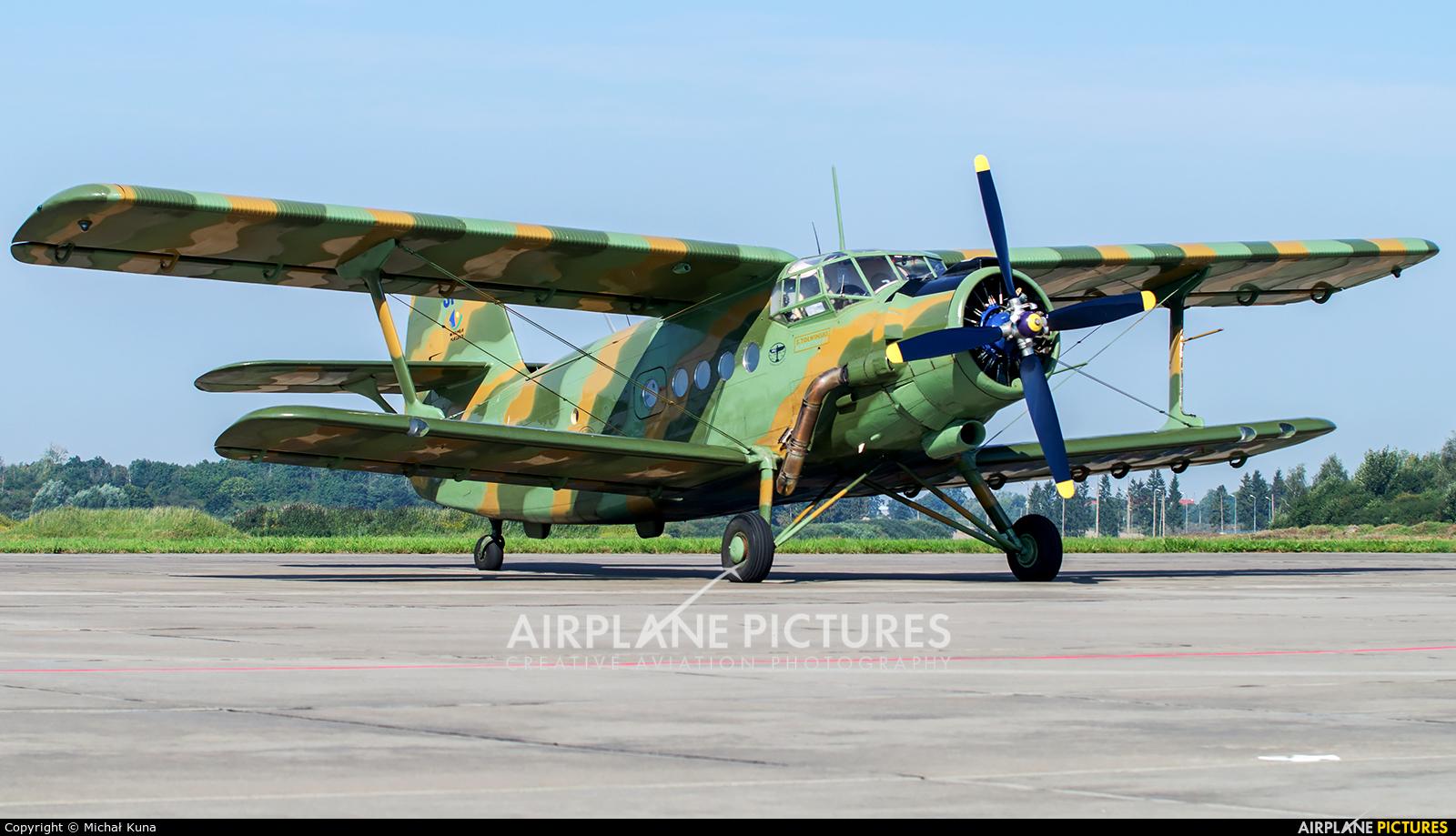 Private SP-KTS aircraft at Malbork