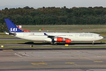 LN-RKP - SAS - Scandinavian Airlines Airbus A340-300
