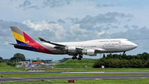 HL7421 - Asiana Airlines Boeing 747-400 aircraft
